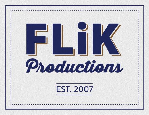 Flik Productions logo badge graphic 2015