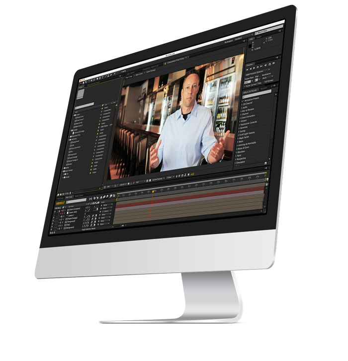 Flik Productions Chicago video editing computer