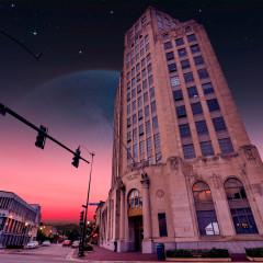 Alien Elgin Illinois Tower Building