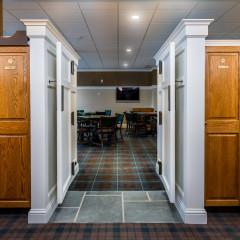 Barrington Hills Country Club locker room