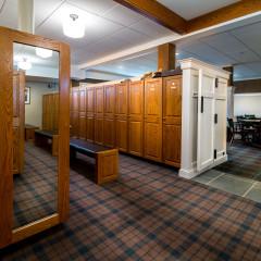 Barrington Hills Country Club locker room 02