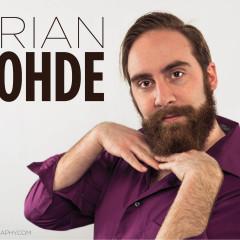 Brian Rhode comedy actor headshot in Chicago