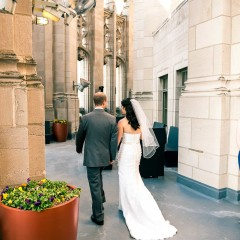 Chicago Tribune tower crown wedding photography