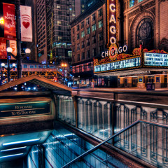 Chicago Theater Flik Photography HDR