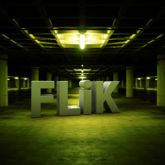 FLiK Productions 3D logo Garage design