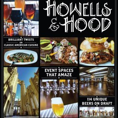 Howells and Hood Chicago window banner design