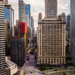 Jewelers' Building Chicago architecture photography