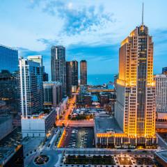NBC Tower Chicago skyline photography
