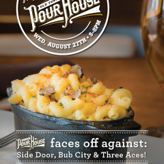 Old Town Pour House Chicago Mac and cheese cookoff ad design