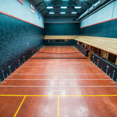 Racquet Club of Chicago original court