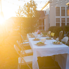 backyard event photography