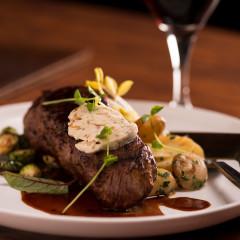 Chicago food photography steak dinner