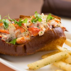 lobster roll restaurant photograph