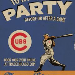 Trace Chicago Cubs poster